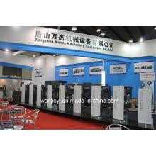 Offset Etikettendruck Maschine mit rotierenden Stanzen