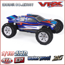 VRX 1/10th 4WD Brushless RC modelo Racing carro de corrida