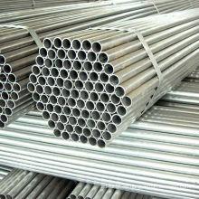 Tubería de acero galvanizada de ERW para construir el marco del invernadero