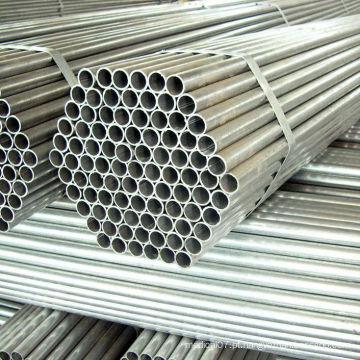 Tubulação de aço galvanizada ERW para o quadro de construção da estufa