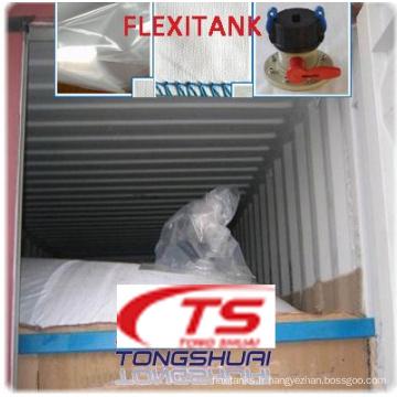 Flexitank pour transport de Fructose