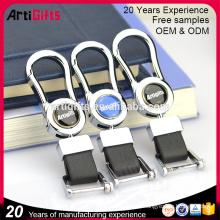 Porte-clés en cuir nouveau style cool sécurité hommes pour voiture