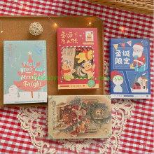 30PCS Per Set Christmas Greeting Post Paper Card