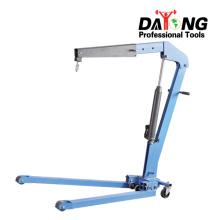 Custom hydraulic shop engine crane for factory use