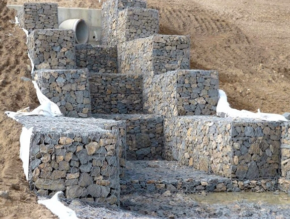 gabion box for use
