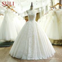 SL-221 de alta calidad de encaje Suzhou vestido de novia 2017
