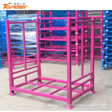 Stackable mobile tire racking display stand for tire