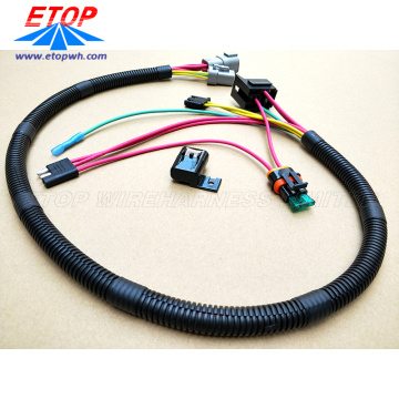 กำหนดเอง 3pin Auto Plug to Relay Cable Assembly