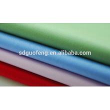 Tejido teñido sólido del algodón de la popelina del grado del spandex 40s con el spandex