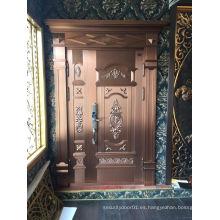 Puerta de cobre de seguridad de la madre de la alta calidad de la madre