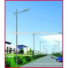 Driveway steel light post