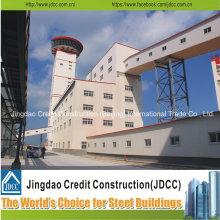 Bâtiment de structure d'acier de conception populaire