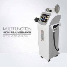 Alta qualidade 8 em 1 máquina facial do salão de cavitação + IPL + RF