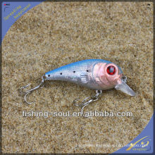 CKL009 8 cm 11g Comercio al por mayor Nuevo Diseño de Plástico Hard Lure Crank Wholesale Fishing Lure