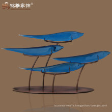 Big Blue fortune fishes imitation creative gifts factory direct wholesale jade resin crafts