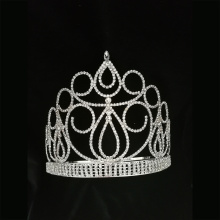 Tiara King Crown ajustable de 6 pulgadas para niño
