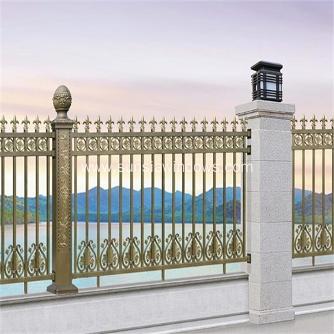 Aluminum Security Fence for Commercial Installations