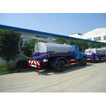 6000 litros fecal camión cisterna de tanque