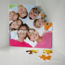 Melhor puzzle de sublimação Pice em branco com magnético
