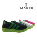 Fashion Young Style Casual Shoes with PVC Injection (JM2080-B)