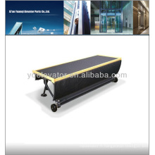 Escalator step chain, escalator étape Isu-calator un escalator avec une chaise