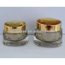 NEW Diamond Acrylic Jar for cosmetic packaging
