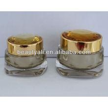 NEW Luxurious Diamond Acrylic Cosmetic Jar