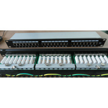 24 Port Cat5e/CAT6 FTP Patch Panel