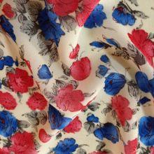 Tecidos de Viscose Crepe estilo mulheres vestido de impressão digital