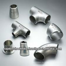 Accesorio de tubería de acero al carbono Dimensión