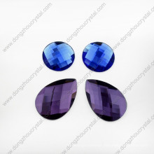 Loose Drop Glass Stones for Dance Clothing