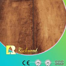 Household 12.3mm E1 AC4 Woodgrain Texture Waterproof Laminate Floor