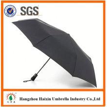 Günstigen Preisen!! Fabrik Supply Promotion 2 faltende Regenschirm mit krummen Griff