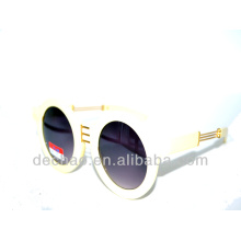 2014-weiße Farbe Designer Metall Zubehör Sonnenbrillen für den Großhandel