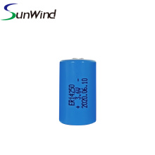 LiSOCl2 Battery 3.6V 1200mah ER14250 lithium battery