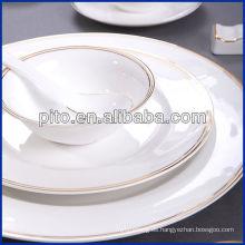 Vajilla de porcelana PITO con calcomanía