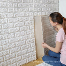 China Wholesale Ceramic Bathroom 3D Self Adhesive Wallpaper Peel and Stick Mosaic Kitchen Backsplash Sticker White Brick Subway Tiles