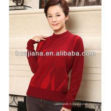 bon chandail de tricot de cachemire antipilling