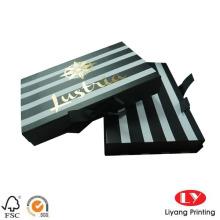 Magnetic folding paper storage box board