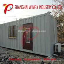 Luxo Totalmente Fornecido 40 Ft China Pré-fabricado de Armazenamento Móvel Recipiente Pré-Construído Casa