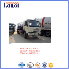 FAW Vacuum Truck for Suction Sewage Truck for Sale