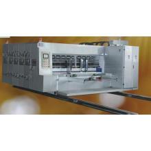 Volle automatische Drei-Farben-Tinten-Druck-und Schlitzmaschine