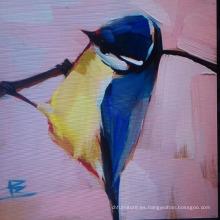 Pintura de pájaros
