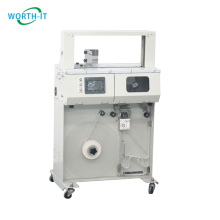 Factory price wholesale printing and packaging automatically Operated Feel high table banding machine