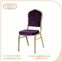 Chaise de banquet en aluminium Qintai