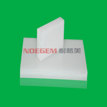High quality extruded white plastic HDPE sheet