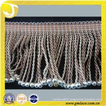 Bullion Chainnette Beads Curtain Trimming Fringe For Curtain,Tapestry,Lamp and Valance Decoration,Tassel Importer