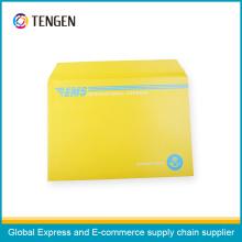 Karton-Umschlag mit Mischfarben Druck