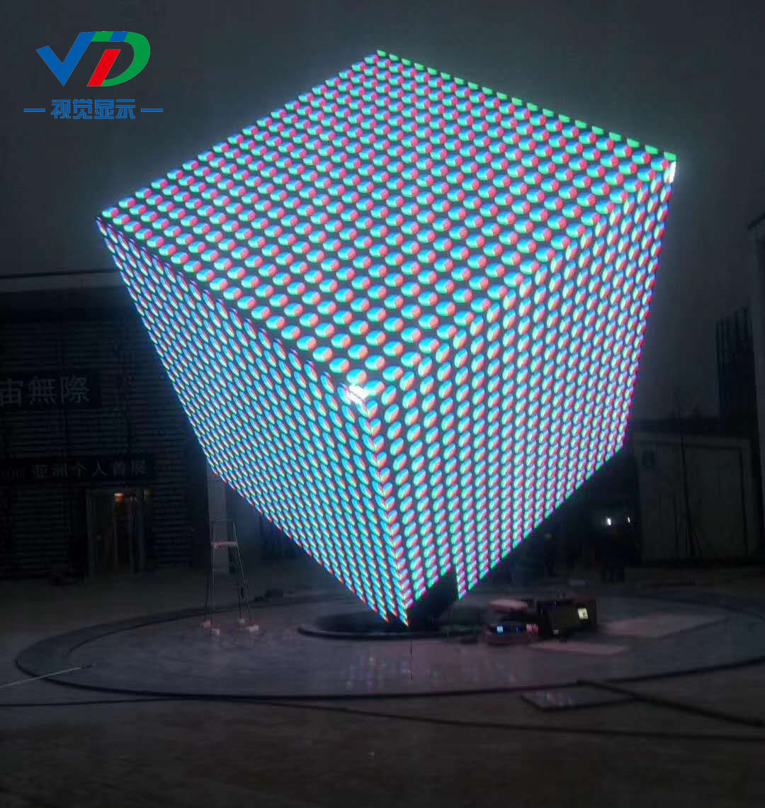 Creative indoor LED display