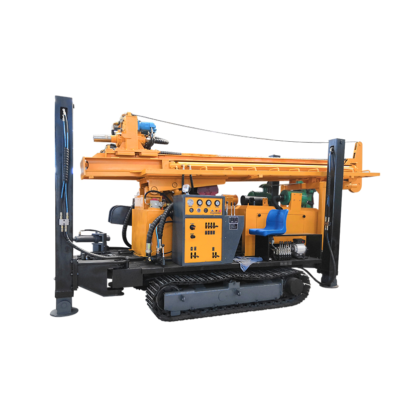 High Quality Fy300 Ce Hydraulic Small Portable Water Well Drilling Rig Machine For Sale Prices Buyers 2